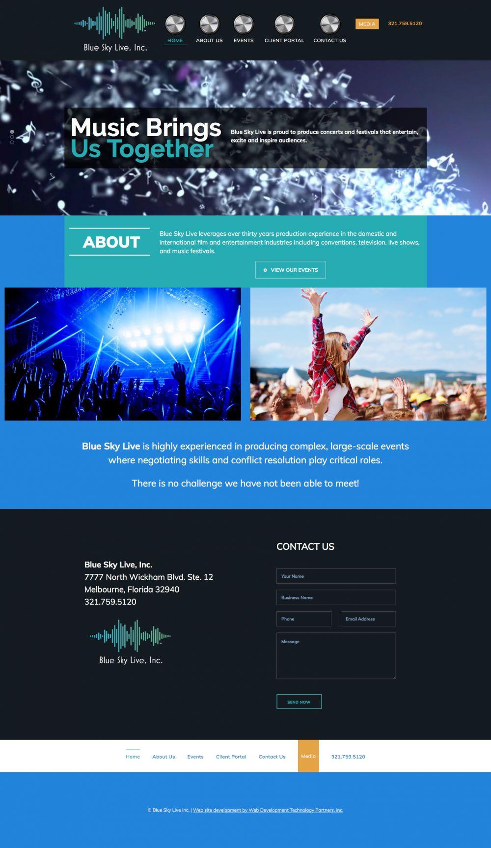 Blue Sky Live, Inc.