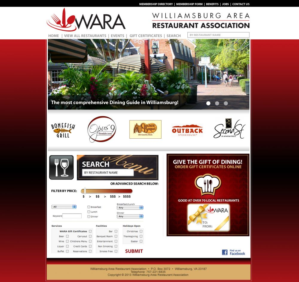 Williamsburg Area Restaurant Association