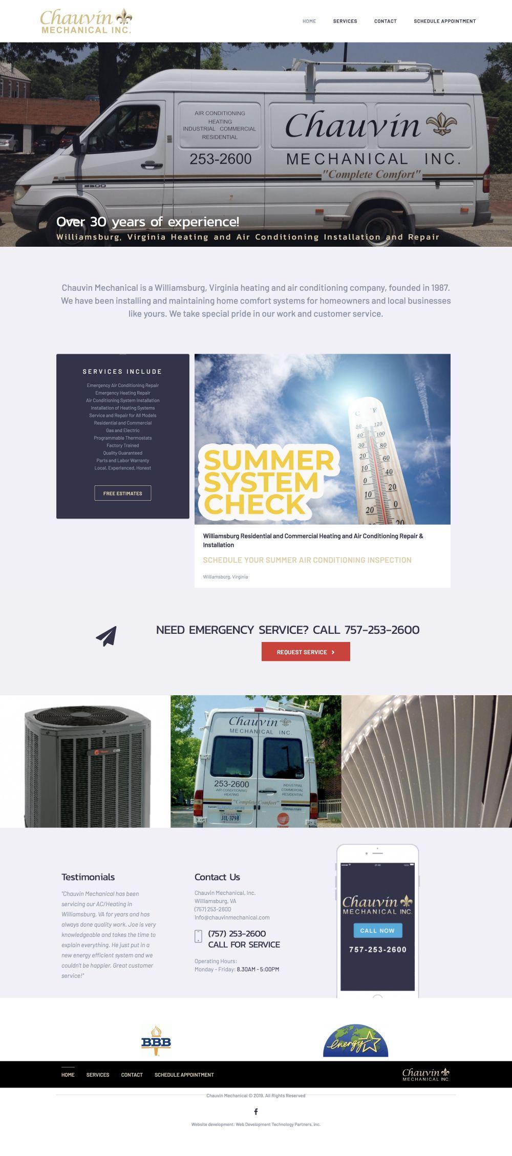 Chauvin Mechanical, Inc.