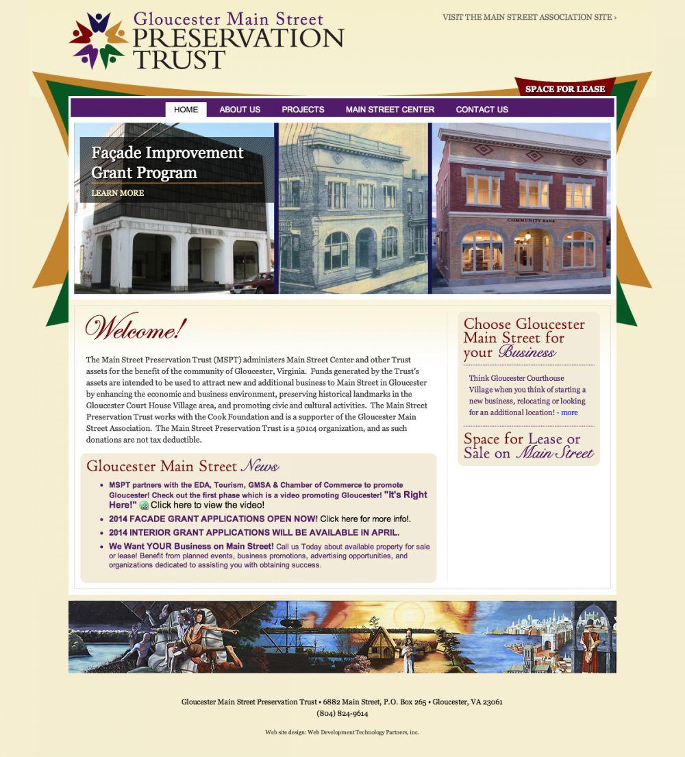 Gloucester Main Street Preservation Trust