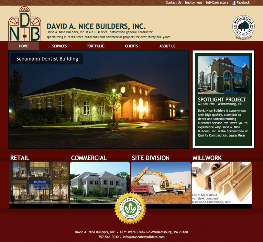 David A. Nice Builders, Inc.