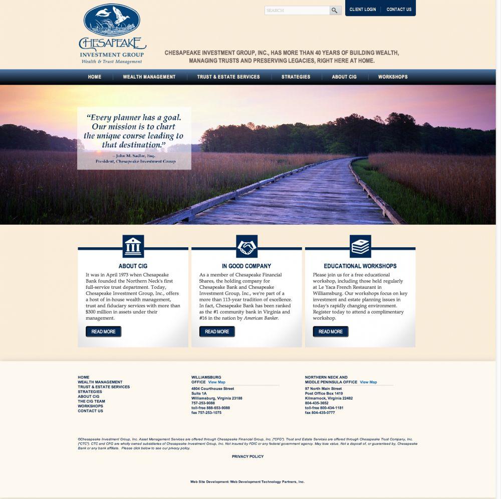 Chesapeake Investment Group