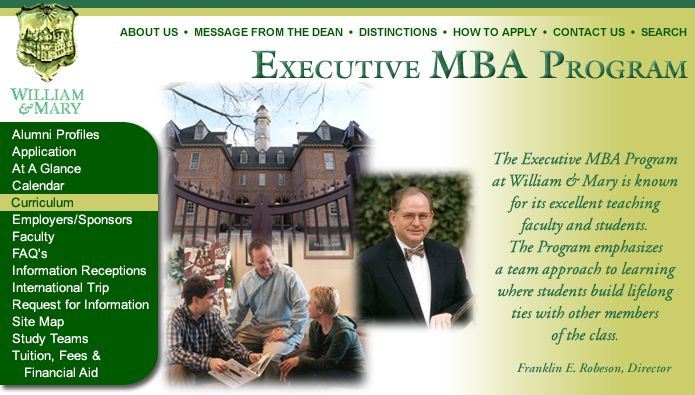 William & Mary Executive MBA Program