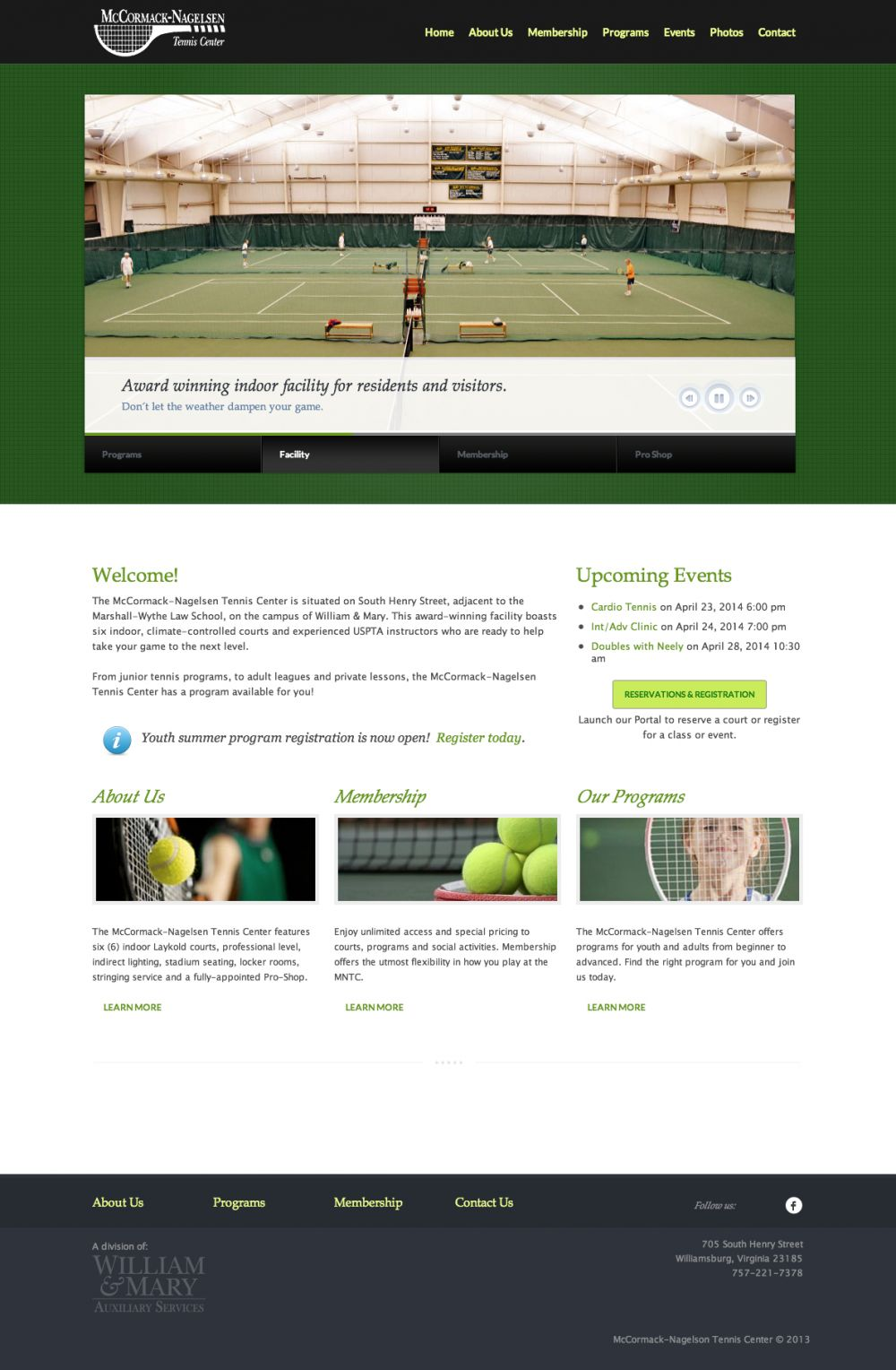 McCormack-Nagelsen Tennis Center