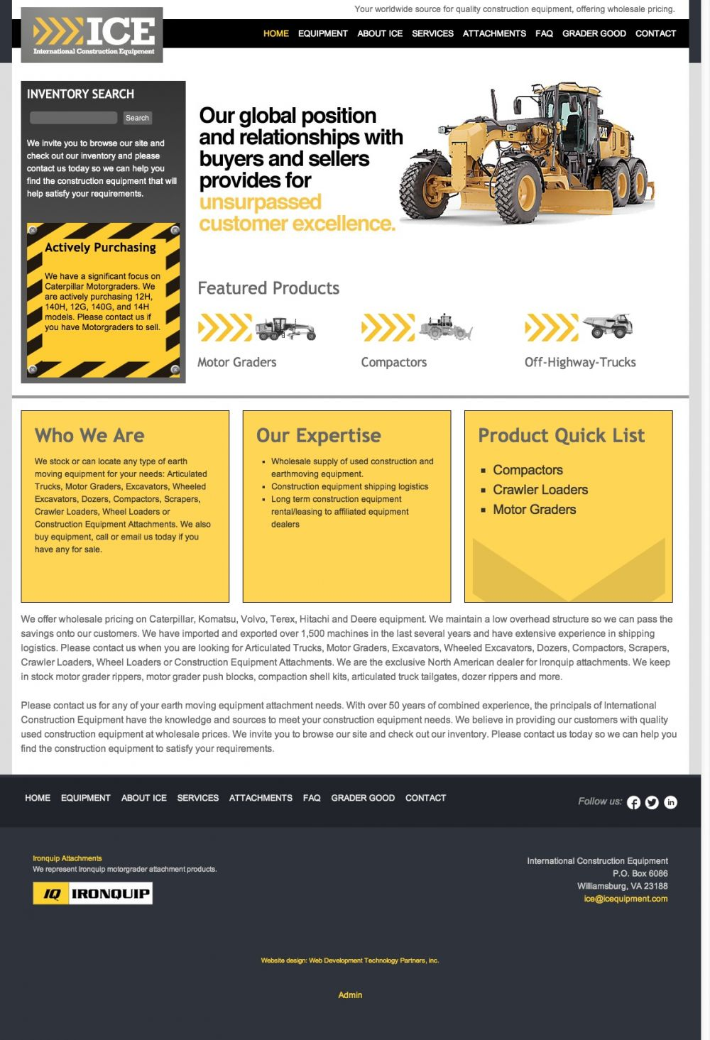 International Construction Equipment