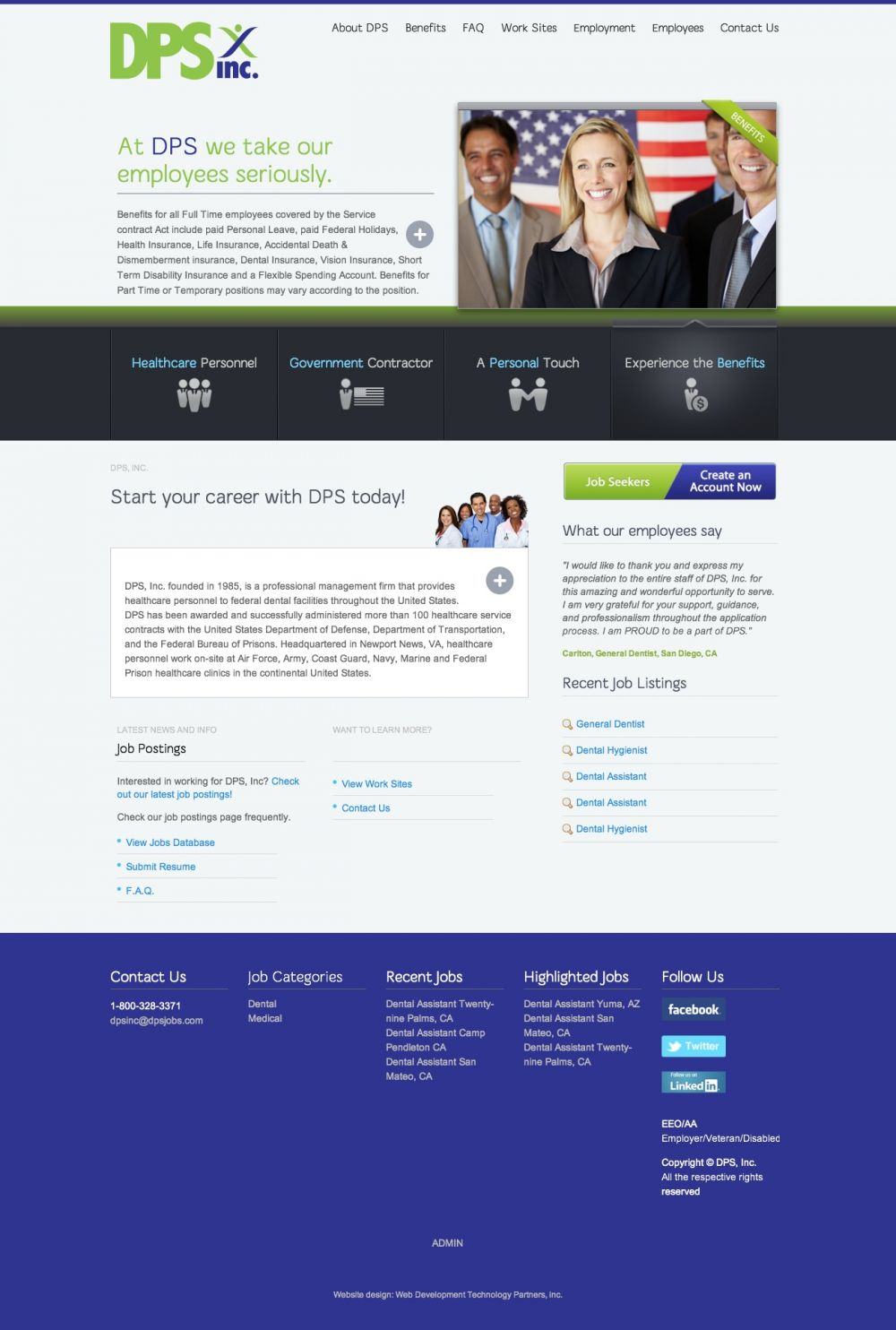 DPS Jobs 2015 Redesign