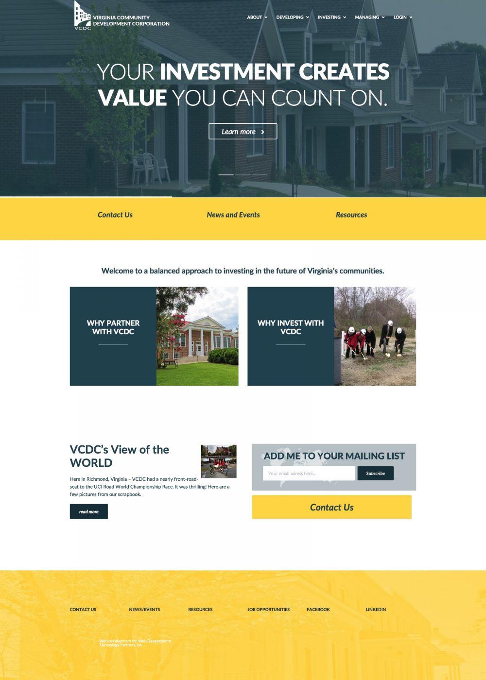 VA Community Development Corp.