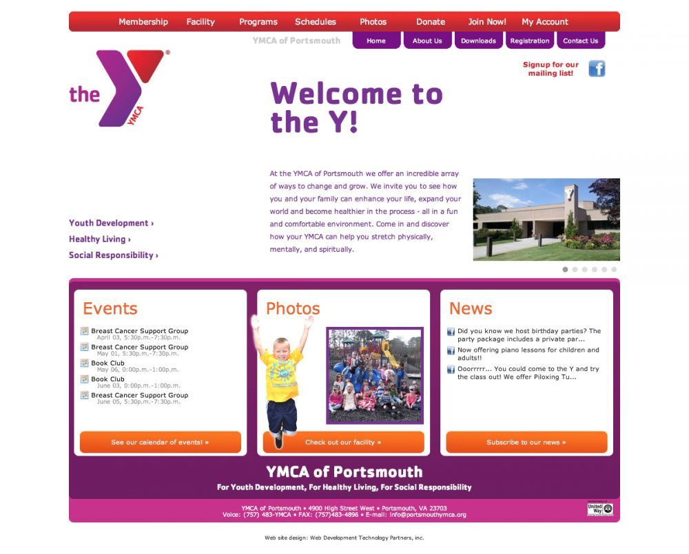 YMCA of Portsmouth 2012